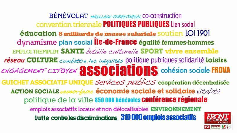 Associations franciliennes en danger : mobilisons-nous !