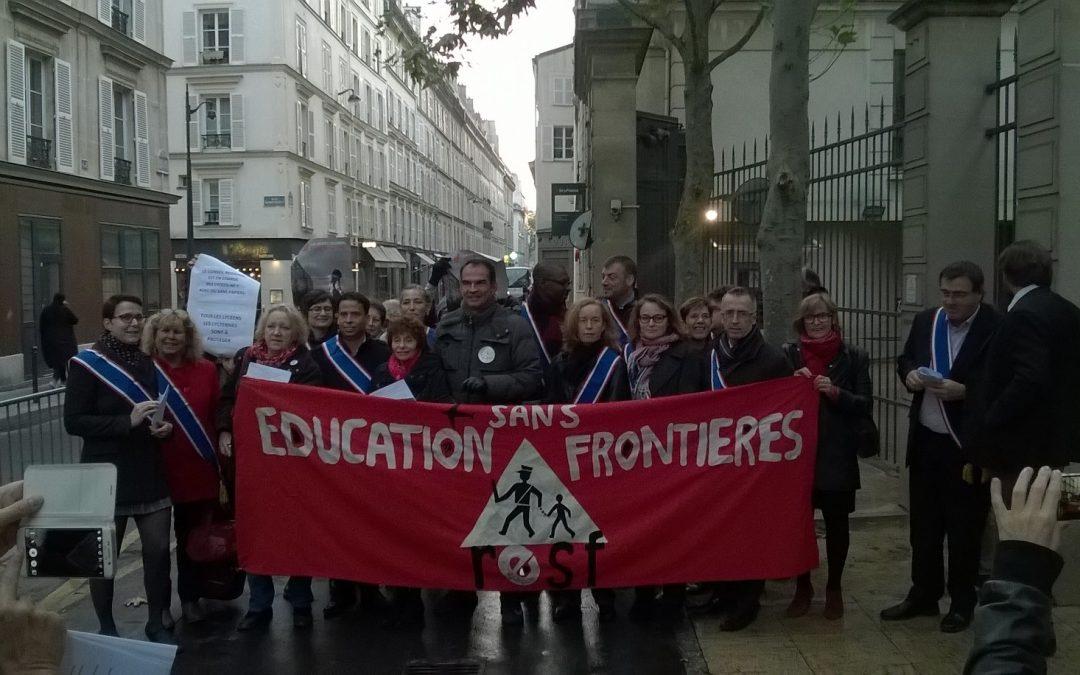 Le Front de gauche solidaire des lycéen-ne-s sans-papiers