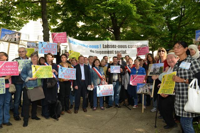 Les élu-e-s Front de gauche résistent à la casse du logement social en Île-de-France