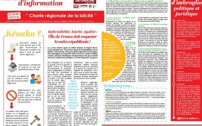 Lettre d'information N° spécial Charte régionale de la laïcité / Juin 2O17