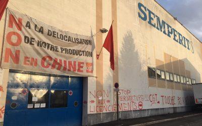 QUESTION ÉCRITE au sujet de l'usine SEMPERIT d'Argenteuil