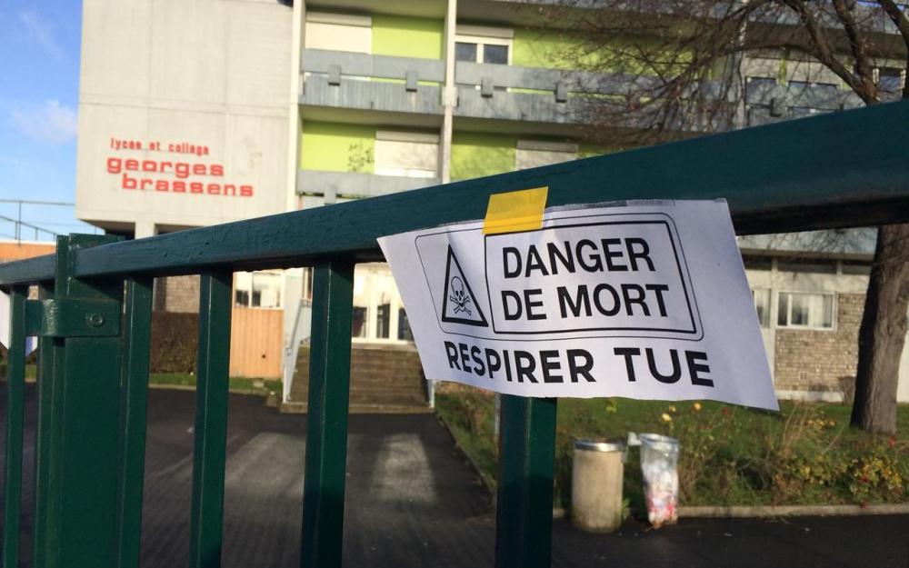 Villeneuve-Le-Roi, 94 / Présence d'amiante au lycée Georges Brassens : La Région doit agir urgemment !