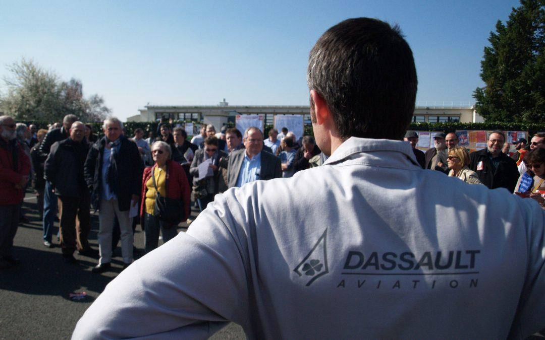 QUESTION ÉCRITE à propos de la situation du site Dassault d'Argenteuil