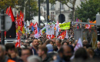 Le 22 mars, soyons toutes et tous avec les cheminots et les fonctionnaires !