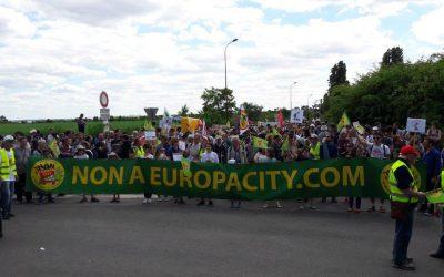 Contre Europacity, des alternatives existent : restons mobilisés !