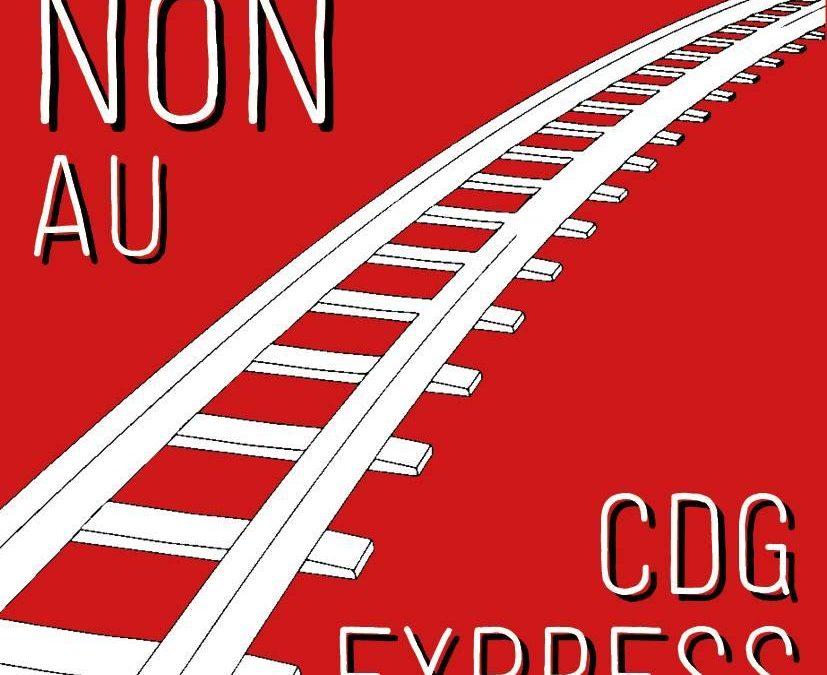 Question écrite à propos de l'engagement des travaux du CDG Express