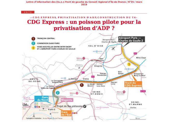 Lettre d'information n°35 / Mars 2019