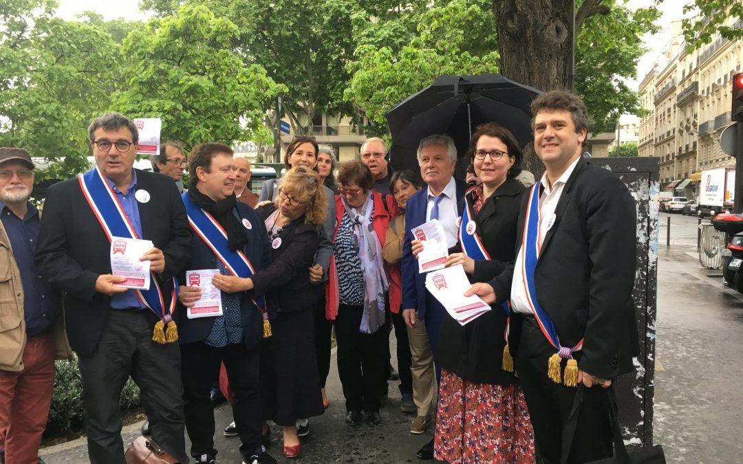 CDG Express : Macron président du train des riches!