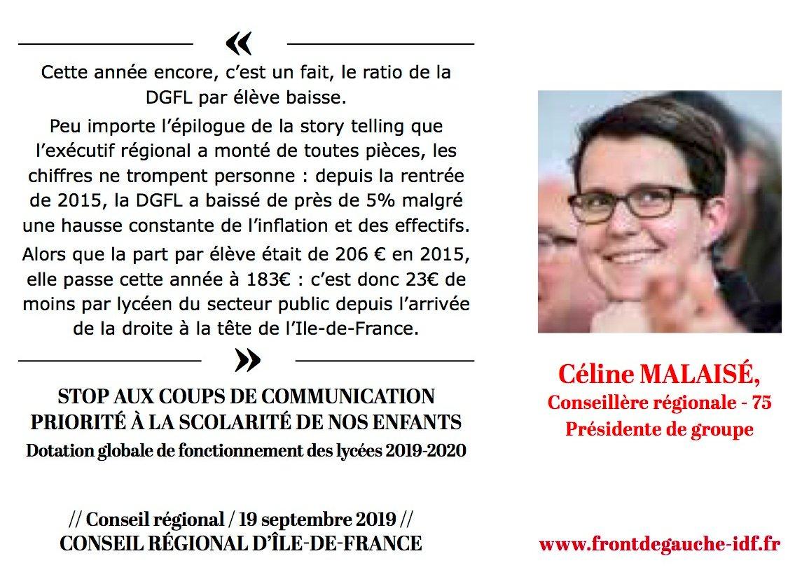 Panneau Céline DGFL