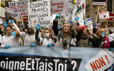 Soutien à la mobilisation nationale des étudiant·es en soins infirmiers – Contre l'asphyxie financière de étudiant·es, les Régions doivent agir !