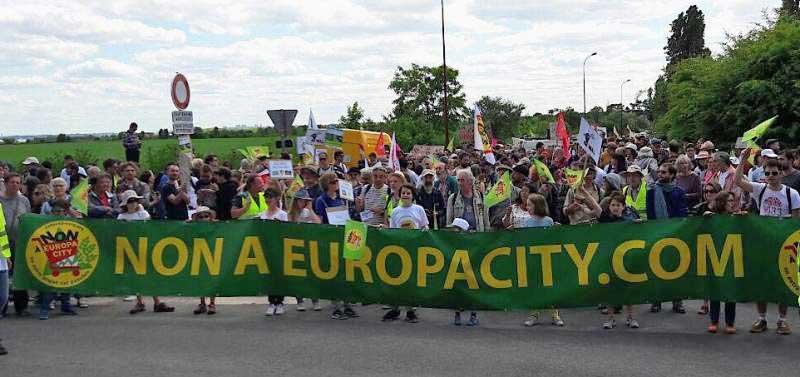 Non à Europacity : les 4 et 5 octobre prochains mobilisons-nous contre ce projet inutile et pour des alternatives durables !