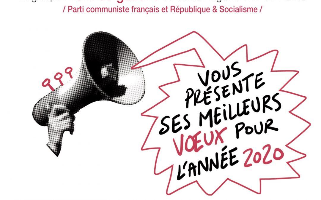 Voeux du groupe Front de Gauche à la Région Île-de-France
