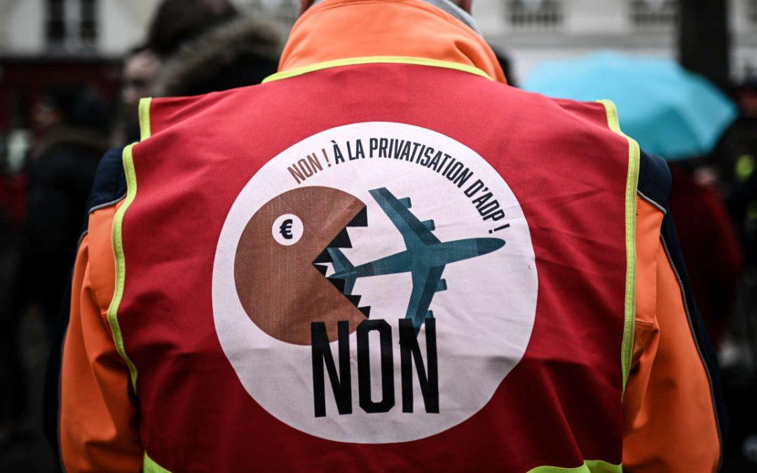 Suspension de la privatisation d'ADP : une première victoire, mais nous restons mobilisés !
