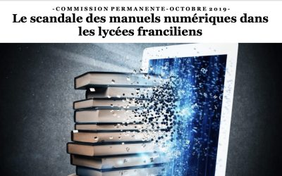 Lettre d'information des élu.e.s Front de gauche du Conseil régional d'Île-de-France / N°39 / octobre 2019