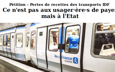 Lettre d'information des élu·e·s Front de gauche du Conseil régional d'Île-de-France n°49 – juillet 2020