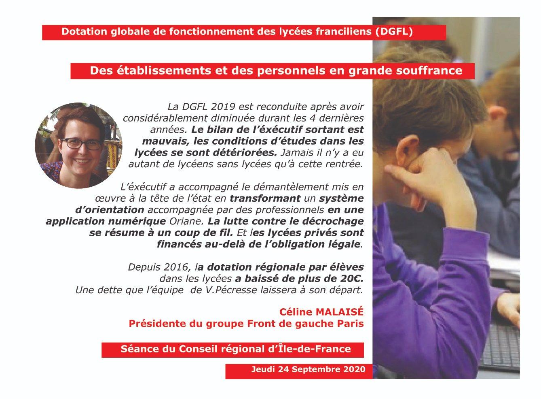 Panneau DGFL Céline