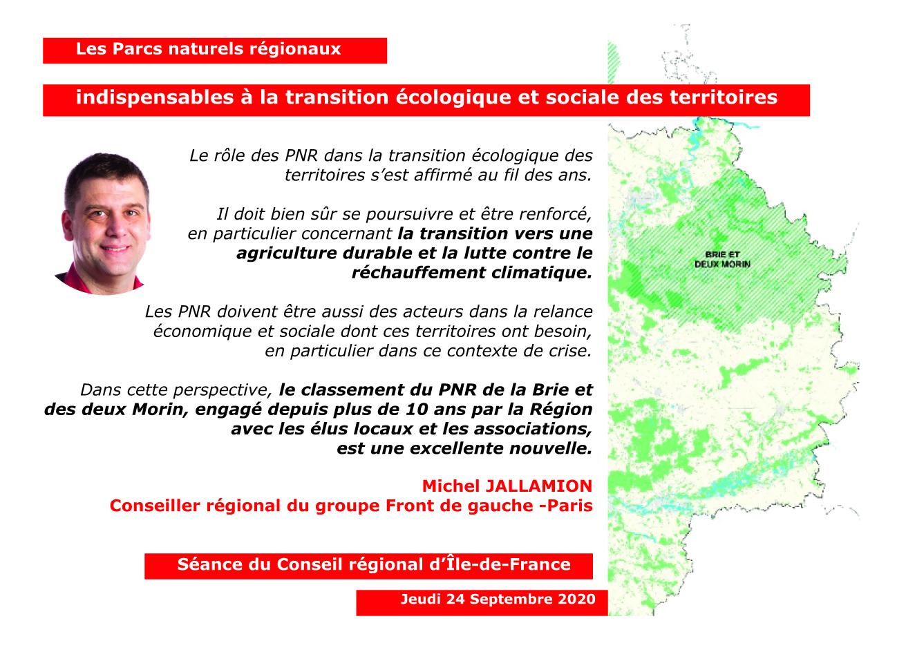 Panneau PNR Michel