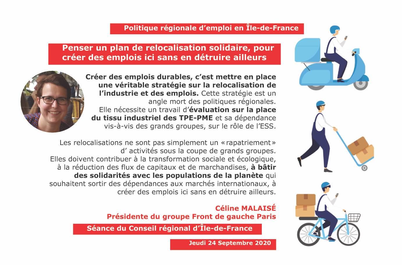 Panneau relocalisation solidaire Céline