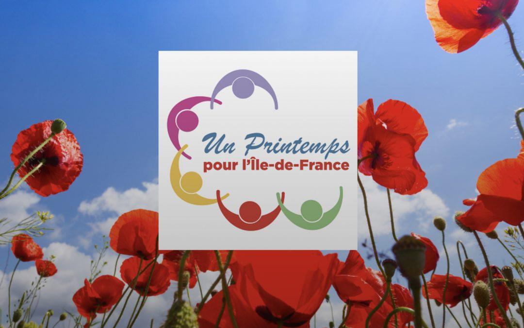 UN PRINTEMPS POUR L' ÎLE-DE-FRANCE