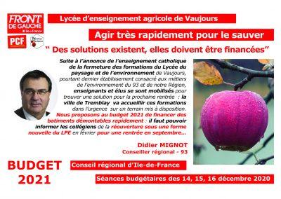 Didier Lycée Vaujours