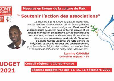 Lamine Culture de paix