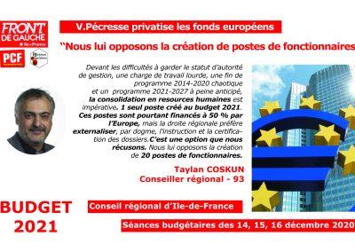 Taylan Fonds européens