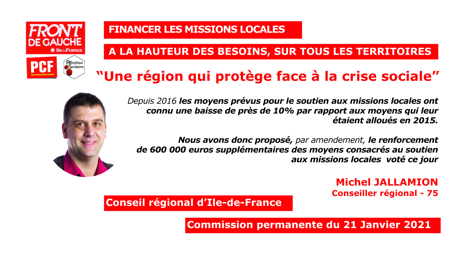 Michel Missions locales