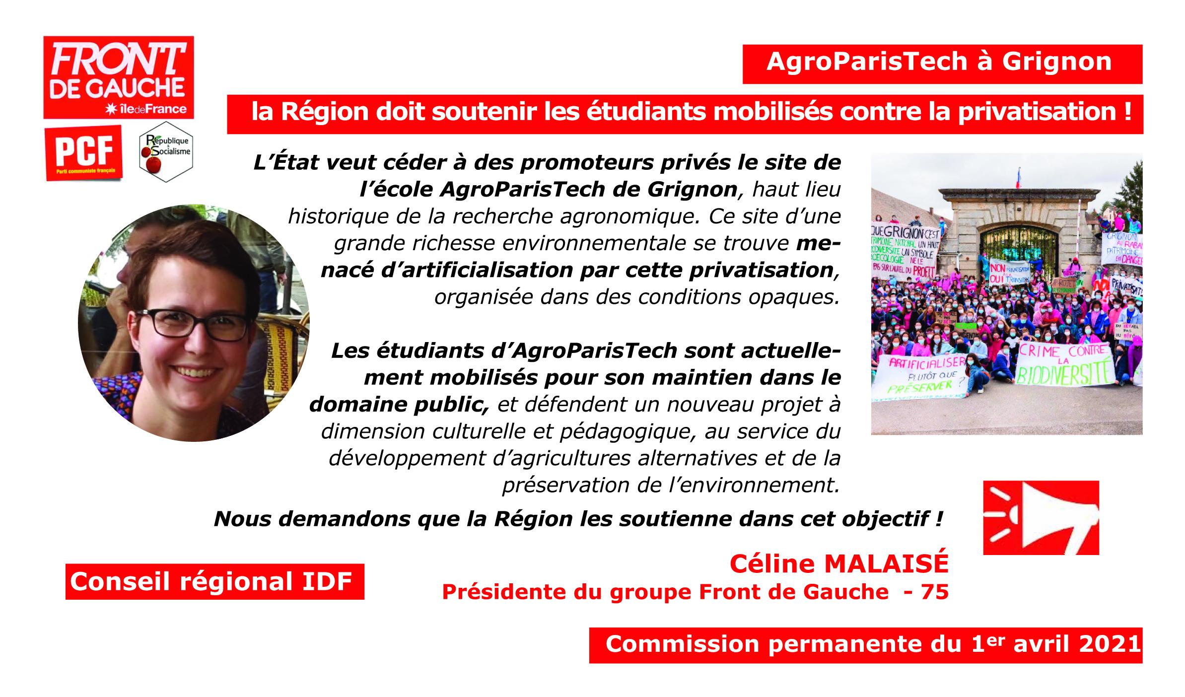 Céline AGRO PARIS TECH