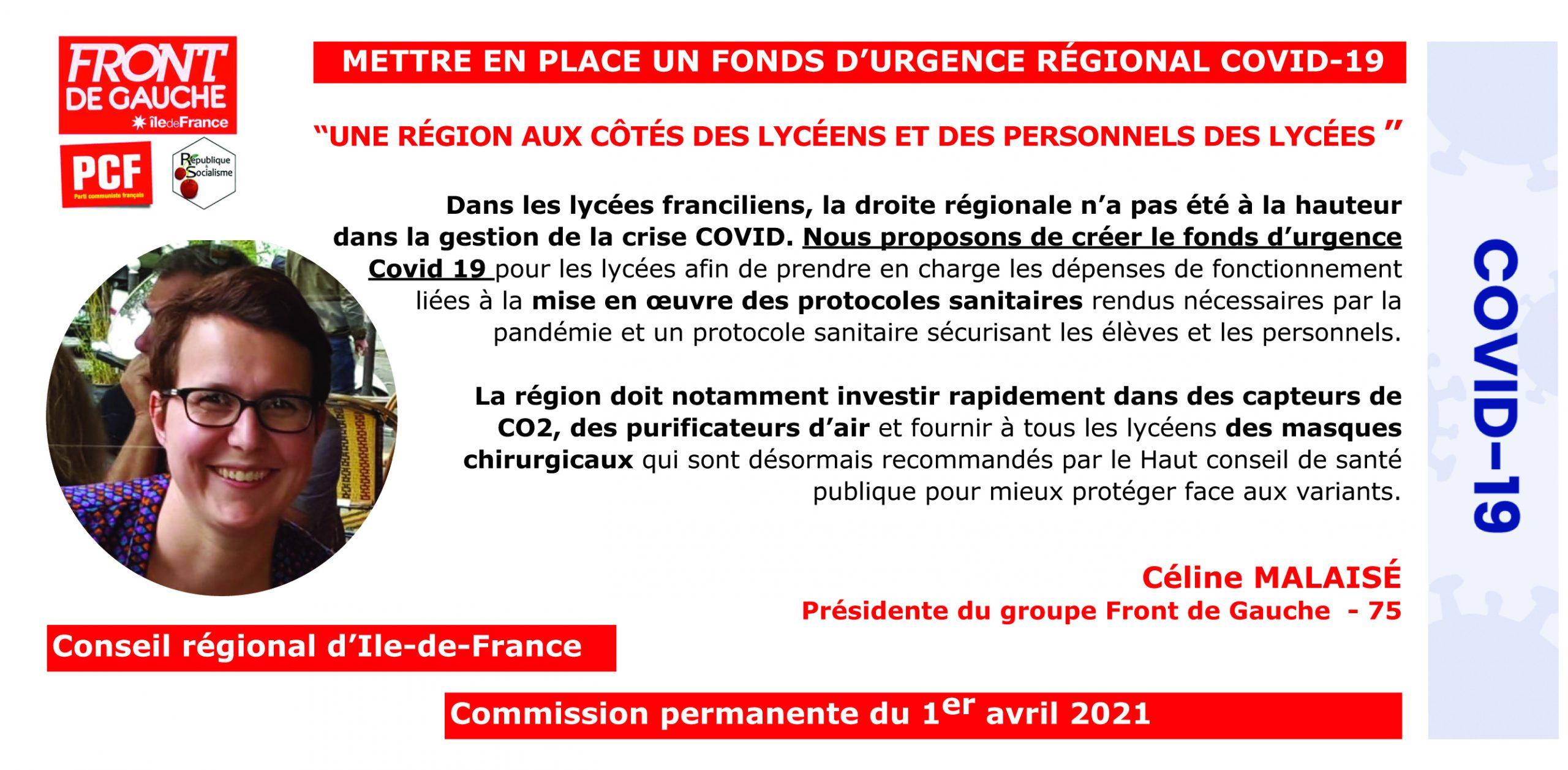 Céline Fond d_urgence lycées